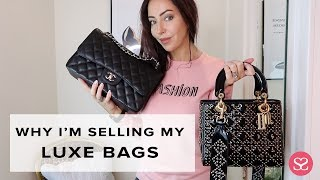 TOP 2017 BAGS & WHY I'M SELLING MINE!!! | Luxe Handbag Collection | Sophie Shohet
