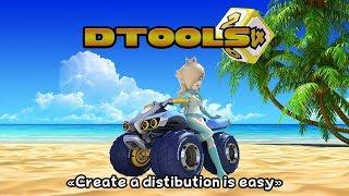 DTools v2.1 (Part 4) - Modify the Mario Kart Wii layout