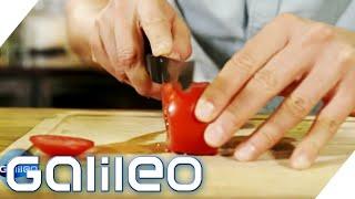 Messer schärfen wie ein Profi - Wir testen die besten Gadgets   Galileo   ProSieben