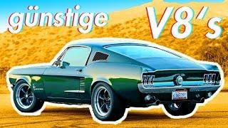 5 billige amerikanische Autos mit V8 Motor die du dir leisten kannst | RB Engineering | Ford Mustang