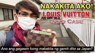 Nakakita ako  ng Louis Vuitton Card Case   Ano ang gagawin kong makakita ng gamit dito sa Japan?