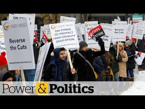 Education minister should be fired, says Ontario NDP amid teachers' strikes | Power & Politics