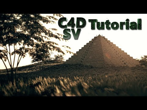 Cinema 4D Tutorial / Redshift Render / Pyramid / Forester
