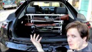 Electric Car Owner Adds Gun Rack
