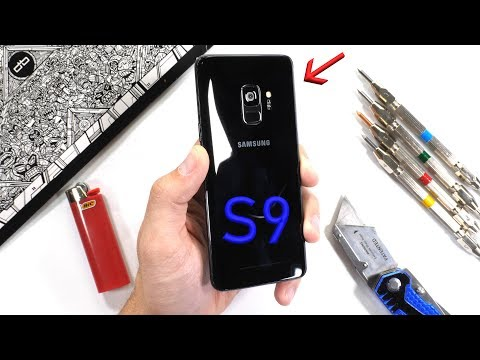 Galaxy S9 Easily Passes JerryRigEverything's Durability Tests