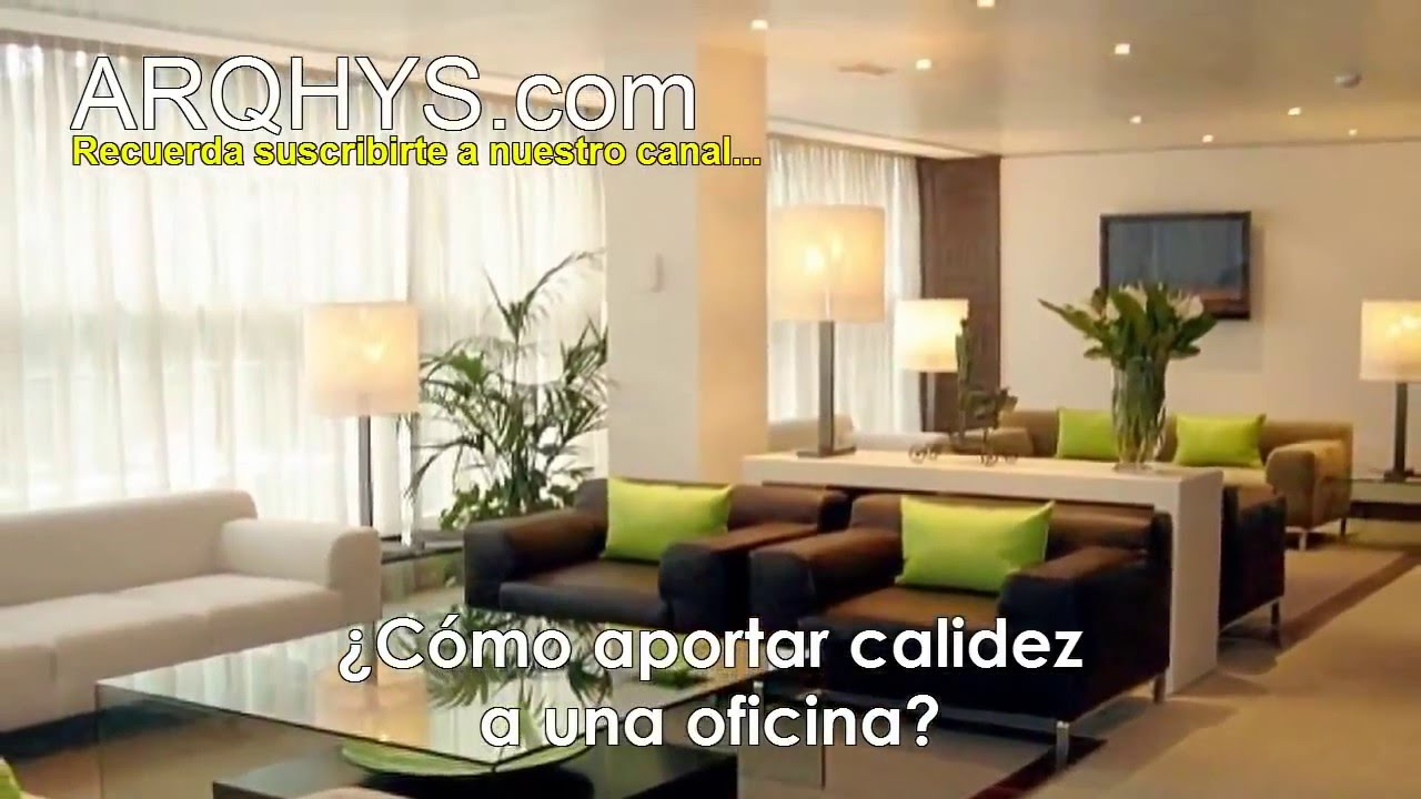 Tips para decorar tu oficina oficinas modernas calidas acojedoras peque as etc youtube for Oficinas pequenas modernas en casa