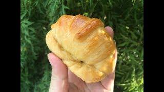 ❤ BÁNH MÌ CUA _ Làm bánh mì bơ sữa thơm ngon dể làm l Croissant Crab Sandwiches l TMThảo