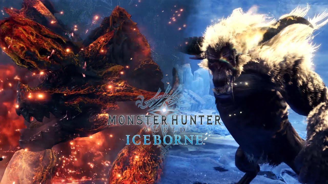 MHW: Iceborne - Raging Brachydios & Furious Rajang thumbnail