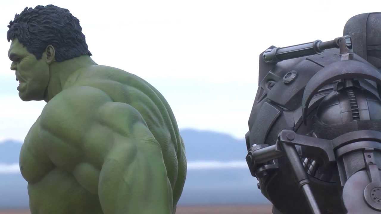 Avengers hulk hot toys review visual tour series youtube for Tour avengers