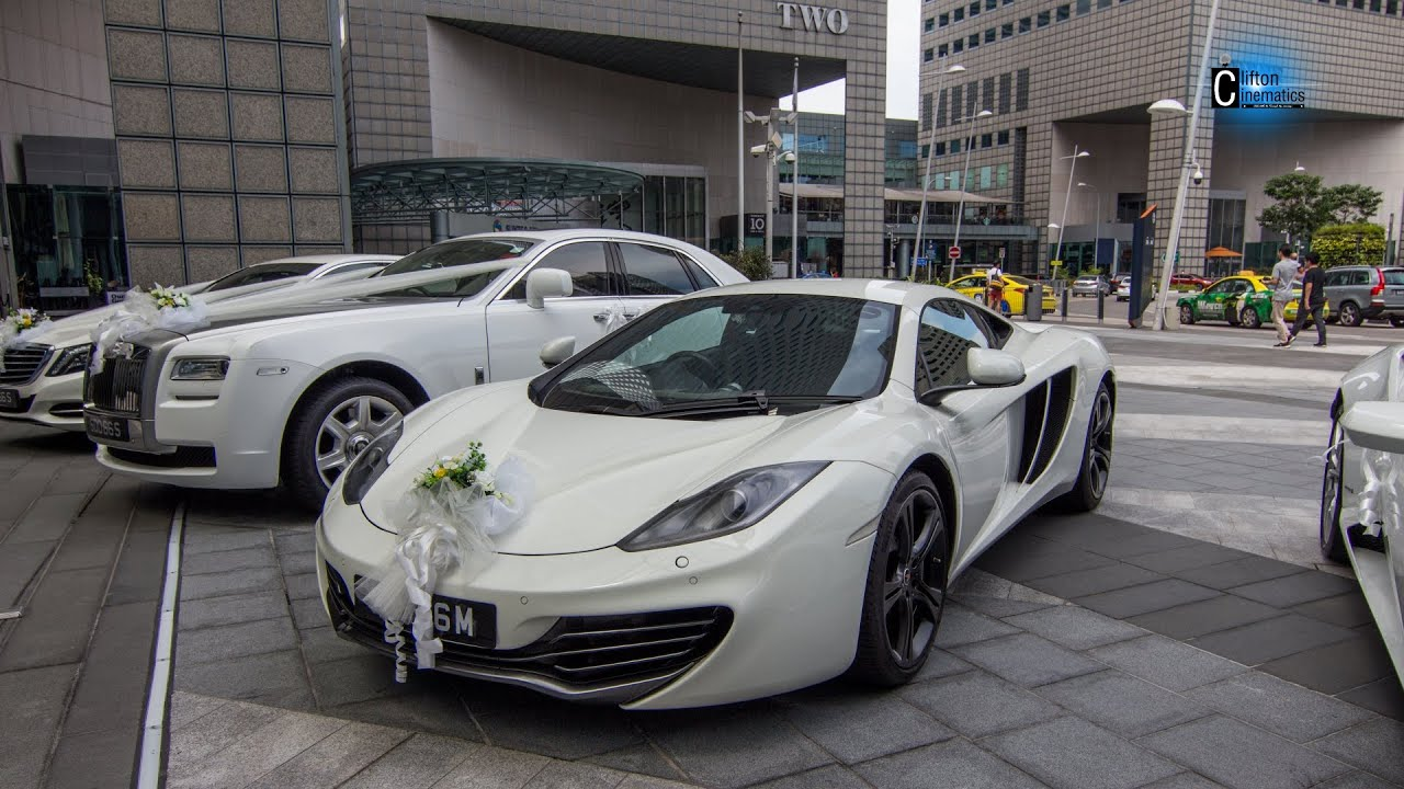 Mclaren Mp C Wedding Car Short Ride