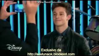 Soy Luna 2   Mateo dice en la entrevista que no tiene novia y Luna lo vee Ep 52