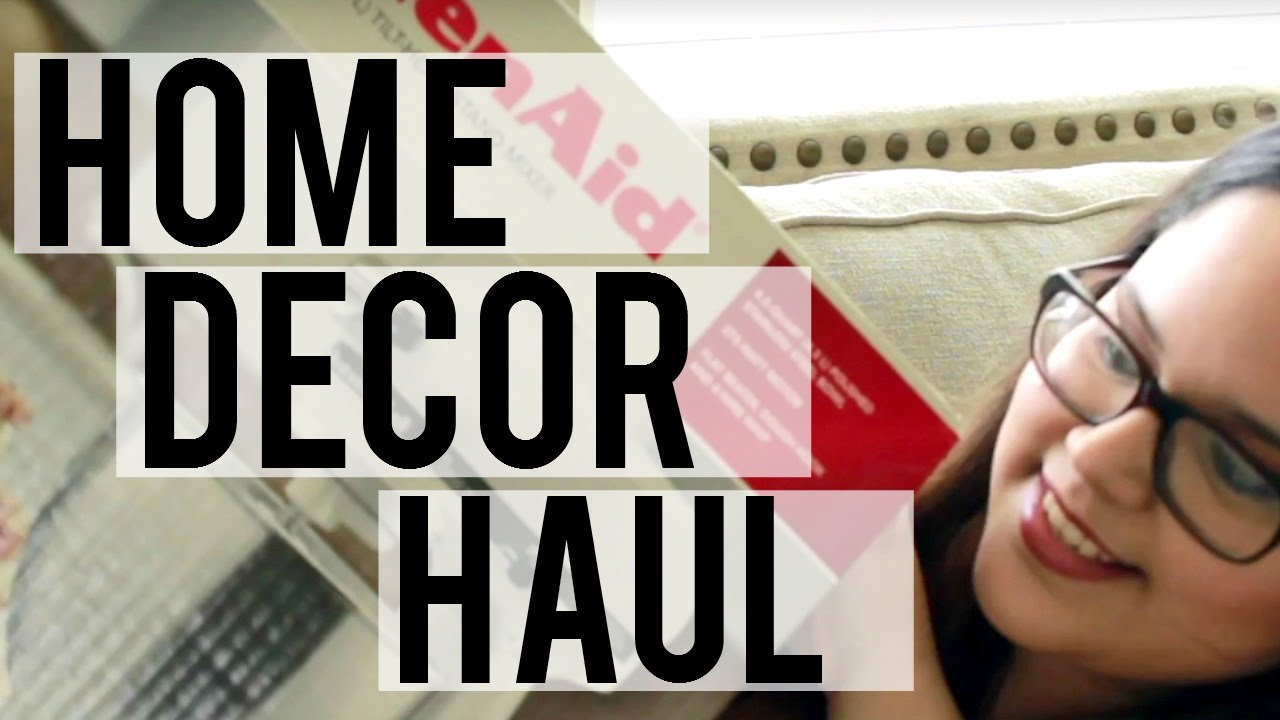 Woman Home Decorating spring home decor haul | world market, kirkland's + the pioneer