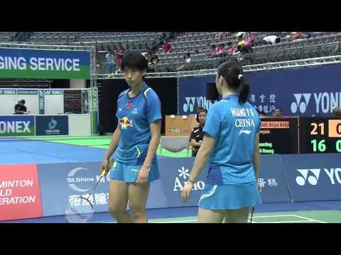 2014 YONEX CHINESE TAIPEI OPEN- SF- WD - Match 4