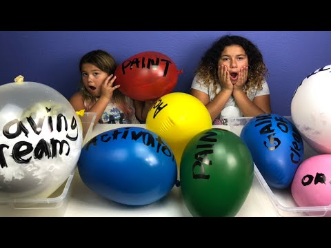 Making Slime With Giant Balloons! Giant Slime Balloon Tutorial