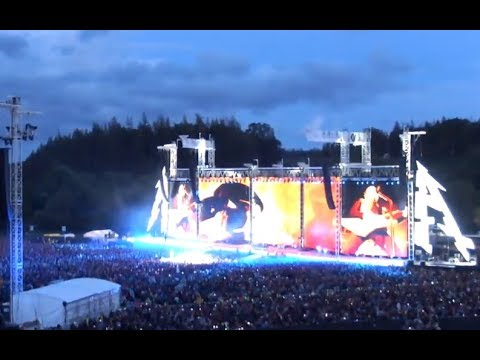 METALLICA performed at Slane Castle venue in Meath, Ireland - video and thank you vid!