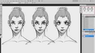Рисование персонажей (урок #1) | Как рисовать женский портрет(Группа ВК: http://vk.com/inspired_drawing Скидываемся на новые переводы: http://www.inspired-drawing.com/pomoshh-sajtu Оригинальное видео:..., 2014-04-22T11:55:17.000Z)