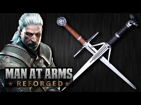 Thumbnail: Witcher 3: Silver & Steel Swords - MAN AT ARMS: REFORGED