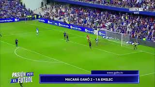 EMELEC VS MACARÁ - PLAYOFFS