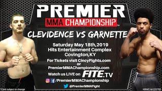 Premier MMA Championship 12 Jacob Clevidence vs Timothy Garnette