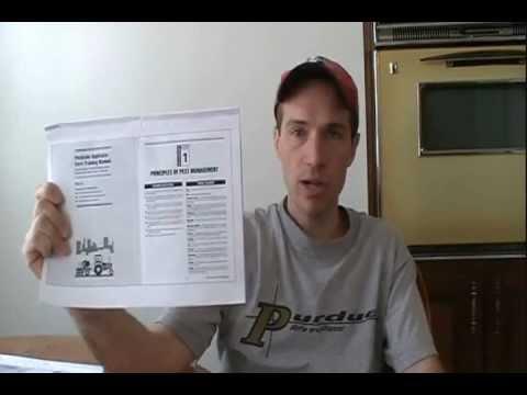 pesticide applicator core exam youtube