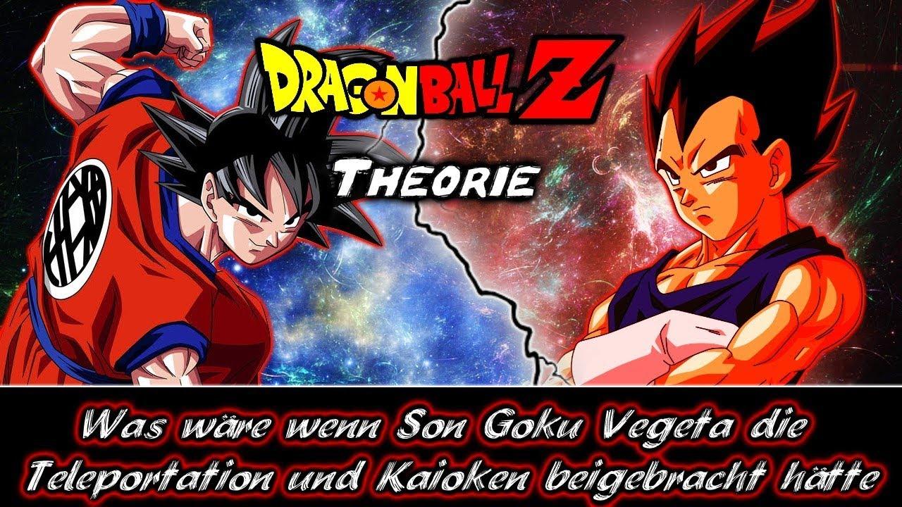 Was Wäre Wenn Son Goku Vegeta Die Teleportation Und Kaioken