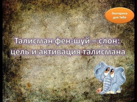 Талисман фен-шуй – слон: цель и активация талисмана