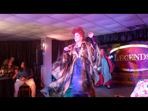 "Sanderson Sisters ""I Put a Spell on You"" at Legends in Lakeland"