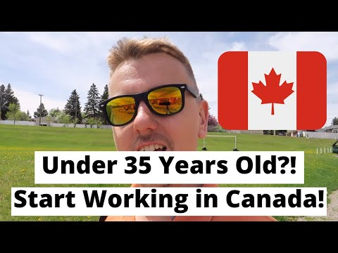 Under 35 Years Old? Start Working In Canada!    Working Holiday Visa