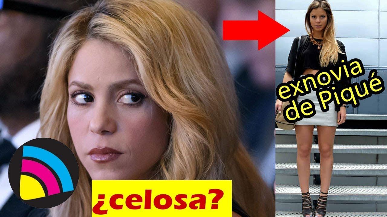 Shakira Celosa De La Exnovia De Gerard Piqué Nuria Tomás Youtube