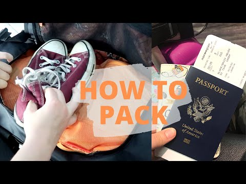 how to PACK for study abroad: bags, esentials, tips & tricks