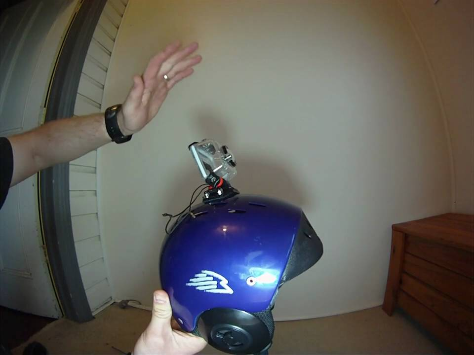 How To Mount A Gopro To A Helmet So It Wont Come Off Youtube