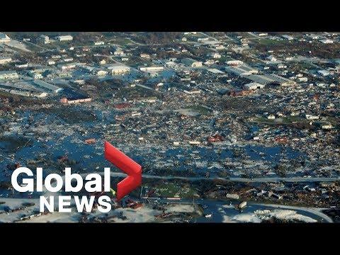 Hurricane Dorian slams Bahamas, at least 23 dead including Canadian