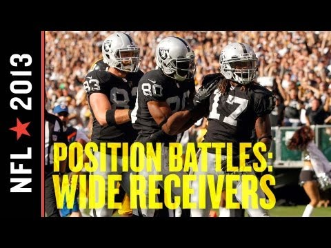 2013 Oakland Raiders Training Camp Position Battles: Wide Receivers