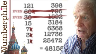 Russian Multiplication - Numberphile