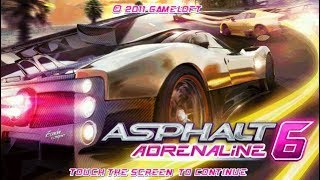 Asphalt 6: Adrenaline [Touchscreen Java Games]