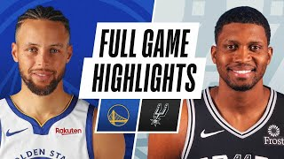 Game Recap: Warriors 114, Spurs 91