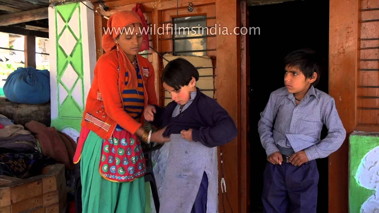 Indean Sex Vide Great going to school in india: uttarakhand - youtube
