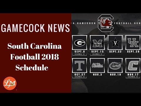 Gamecock News-South Carolina Football Schedule 2018