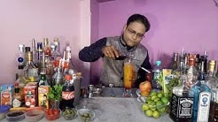 how to make mocktail in hindi