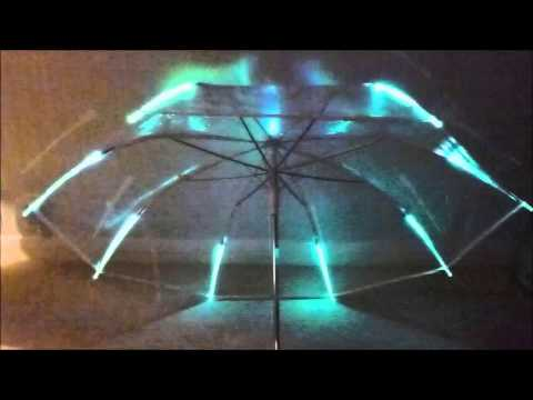 Umbrella Clear Lighted Youtube