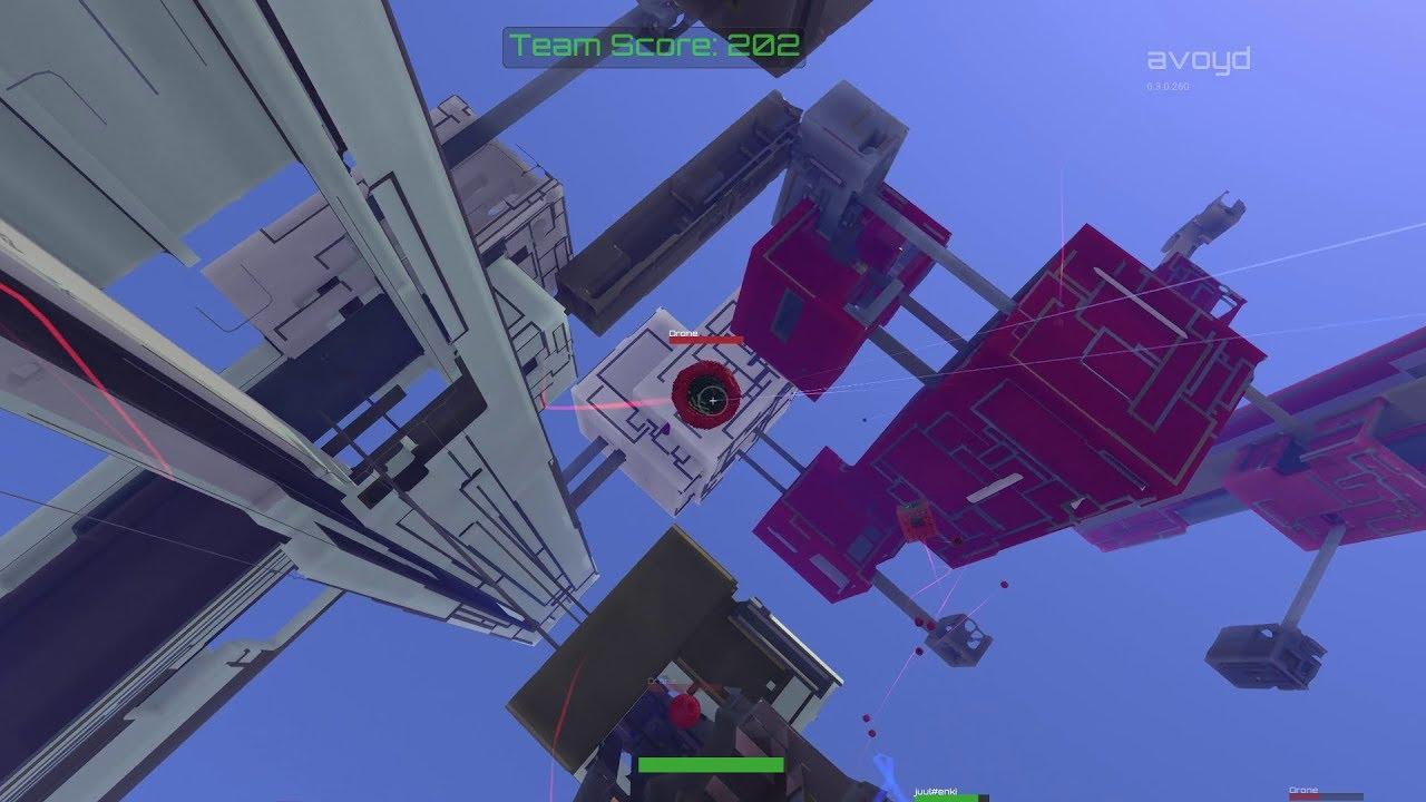 Avoyd 6DOF FPS Voxel Game - Gameplay Tutorial for v0 3