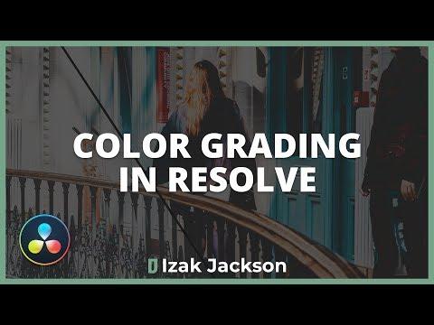 Color Grading Films In Davinci Resolve | Resolve Basics