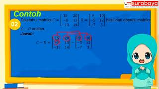 Download Operasi Pada Matriks tingkat SMA/SMK | TIK-Pendidikan