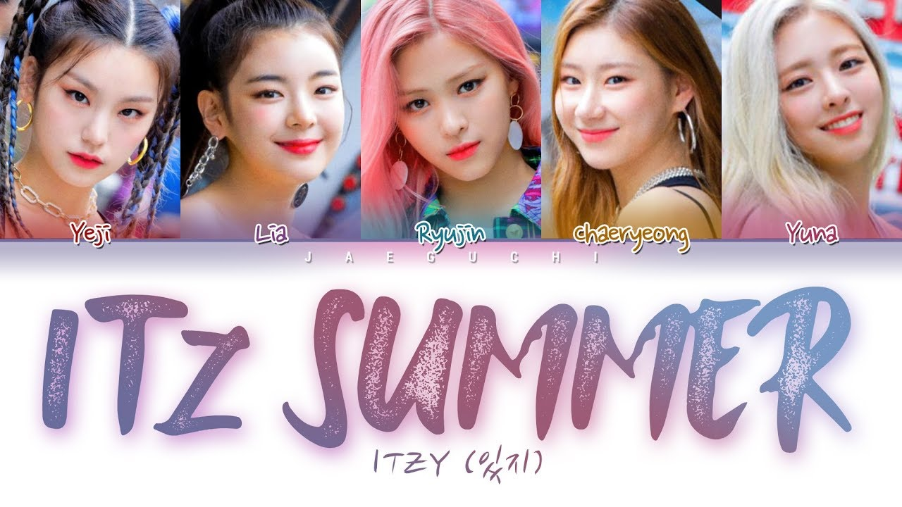 ITZY (있지) - IT'z SUMMER (Color Coded Lyrics Eng/Rom/Han/가사)