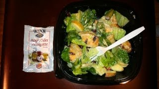 Burger King Chicken Apple Cranberry Garden Fresh Salad Review