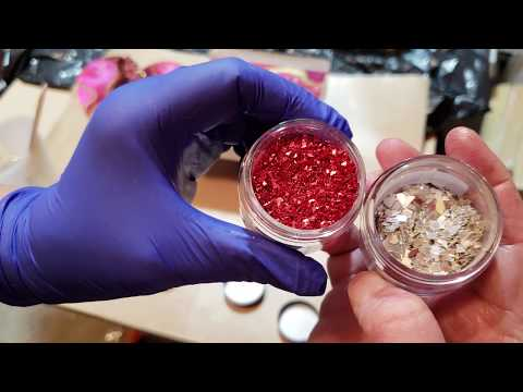 How to make resin droplets for embellishments
