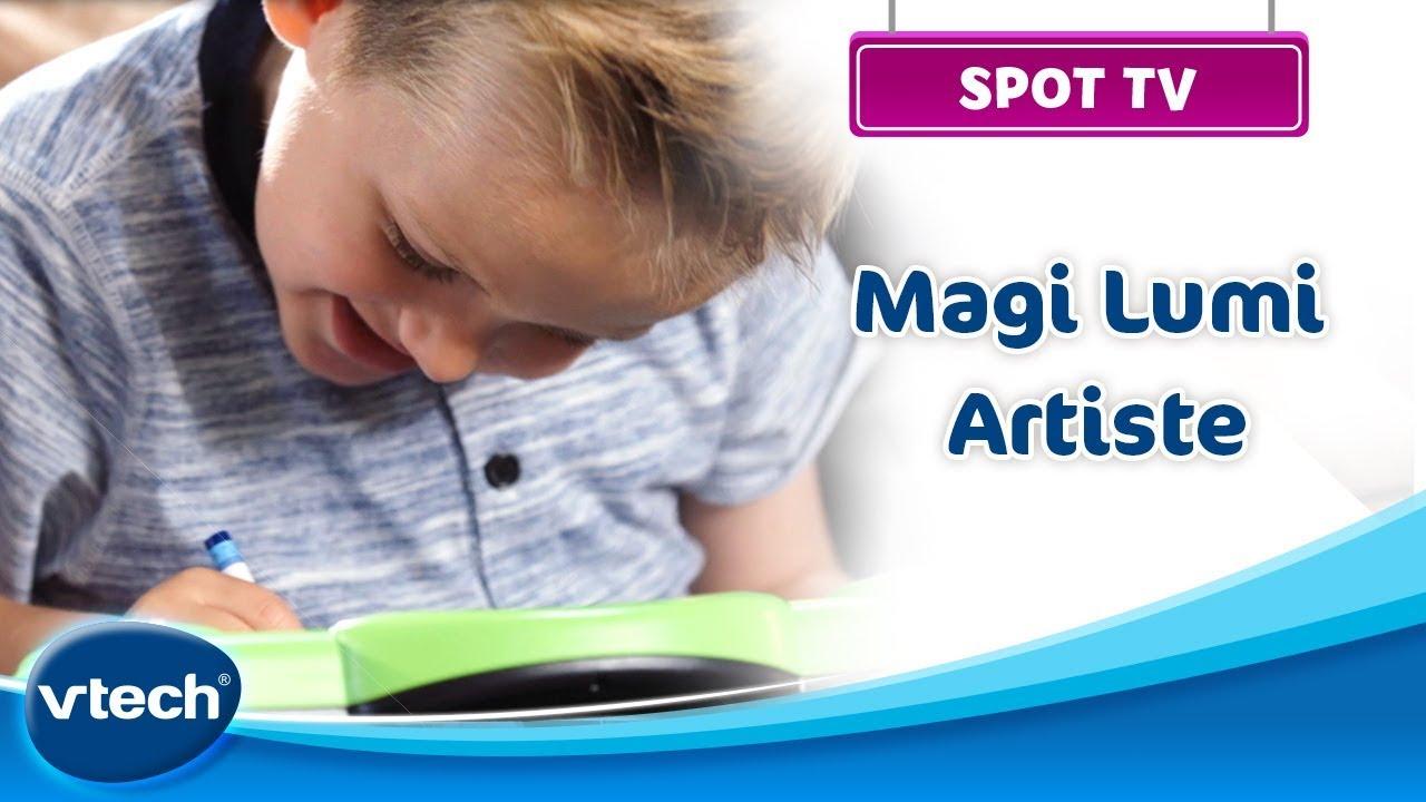 Magi Lumi Artiste - Une ardoise magique pour colorier et dessiner   VTech