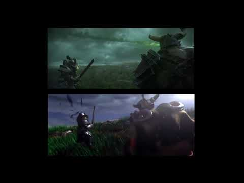 Comparación Trailers Warcraft III (2002) Vs Warcraft III-Reforged (2018)