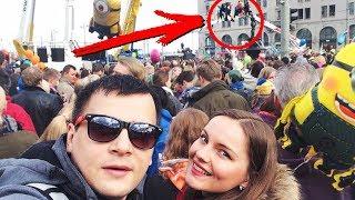 ЗАЧЕМ ОНИ ЭТО ДЕЛАЮТ?! Главный праздник в Финляндии Ваппу / Vappu, Вальпургиева ночь/Suomi,Helsinki
