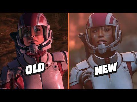 Детальное сравнение обновленных игр Mass Effect с оригиналами